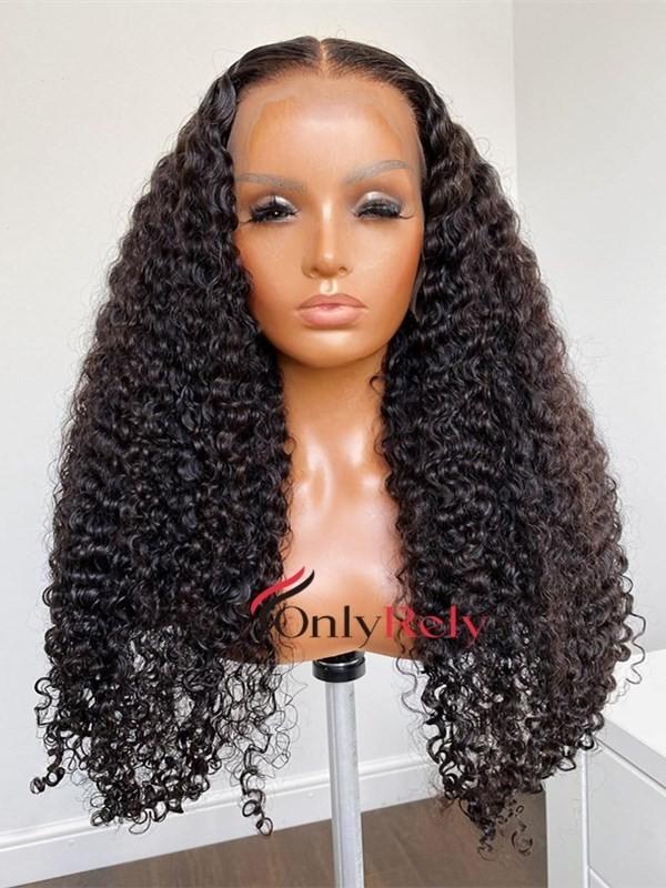 AC567--tight curly preplucked brazilian virgin 360 wig