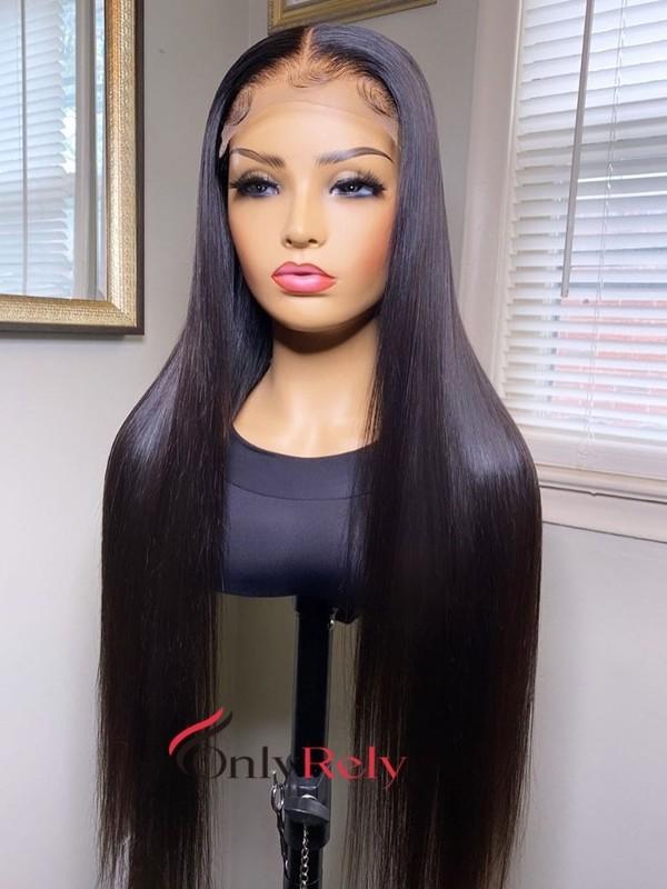 HD096--brazilian virgin 150% density 5x5 HD lace closure wig
