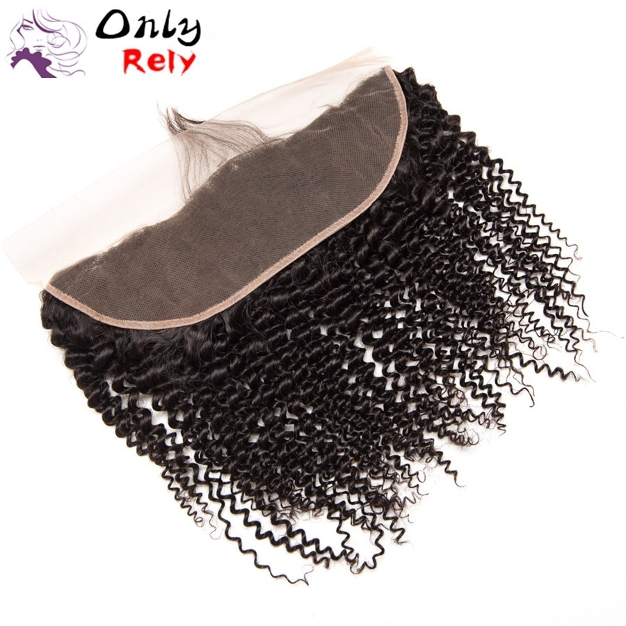 LC102--brazilian virgin natural color 13x4 lace frontal