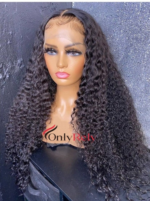 HD333--HD thin Lace 10A+ grade Brazilian virgin hair 13x6 lace front wig