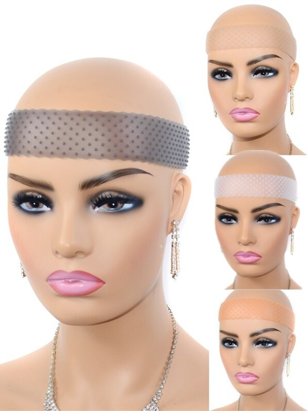 Silicone Non Slip Elastic Wig Band For Fixing Wigs