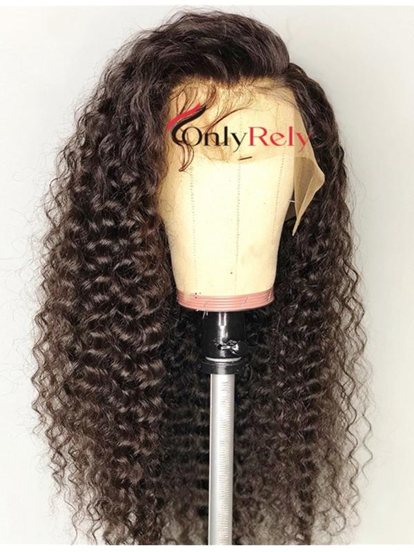 Brazilian Virgin loose kinky curly bleached knots 360 Wig--【AC060】