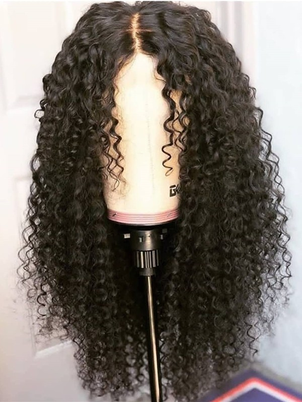 AC612--spanish curl brazilian virgin human hair 360 wig
