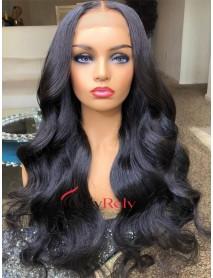 HD130--Body Wave Brazilian virgin 5x5 HD lace closure wig