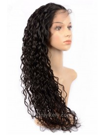 Wet Wave brazilian virgin bleached knots 360 lace wig--【AC040】