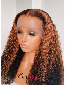 AC121--customized color loose wave 9A Brazilian virgin hair 360 wig
