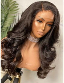 AC111--loose wave Brazilian Virgin human hair 360 Wig