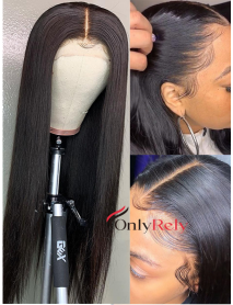 HD333--HD Lace 10A+ grade Brazilian virgin hair 6 inch lace front wig