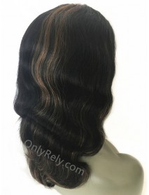 Indian Remy Loose Body Wave U-Part Wig 【UP003】