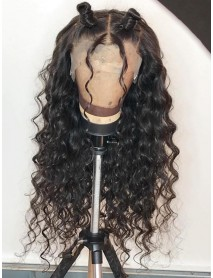 beyonce wave Brazilian Virgin pre-plucked 360 lace Wig--【AC055】