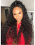 curly wavy Brazilian Virgin bleached knots 360 lacce Wig--【AC099】