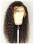 Brazilian Virgin loose kinky curly bleached knots 360 Wig--【AC060】