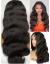 LF130--Brazilian Virgin body wave human hair glueless Lace Front Wig